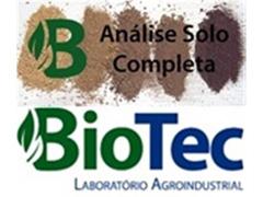 Análise de Solo - Biotec