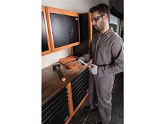 Painel para ferramentas superior pequeno 2 portas Tramontina PRO - 3