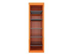 Armário Vertical p Ferramentas Tramontina PRO 1 porta c 5 prateleiras