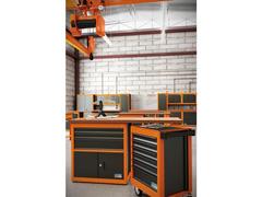 Armário vertical para ferramentas 2 portas com visores Tramontina PRO - 5