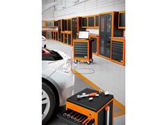 Armário vertical para ferramentas 2 portas com visores Tramontina PRO - 6