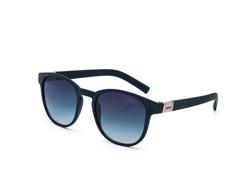 Óculos De Sol Colcci Bowie Azul Escuro Rajado Fosco Fem - 0