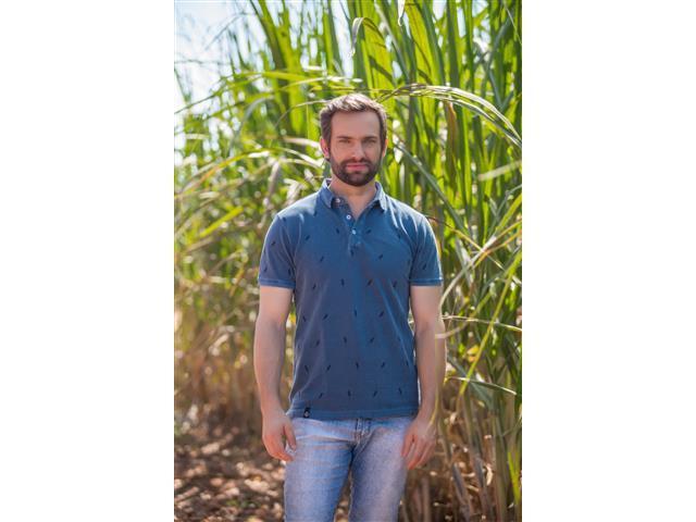 Camisa Polo Wheat Agro Bayer Masc