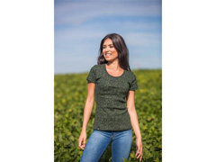 Camiseta Symbols Green Agro Bayer Fem