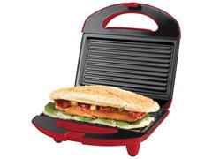 Sanduicheira Mini Grill Cadence Easy Meal Colors Vermelha 750W  - 5