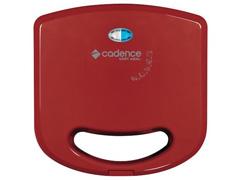 Sanduicheira Mini Grill Cadence Easy Meal Colors Vermelha 750W  - 2