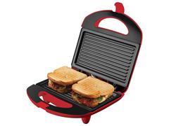 Sanduicheira Mini Grill Cadence Easy Meal Colors Vermelha 750W  - 4
