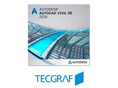 Software Autodesk AutoCAD Civil 3D - TecGraf