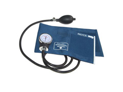 Esfigmomanômetro Aneroide Premium Azul