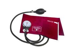 Esfigmomanômetro Aneroide Premium Vinho