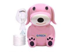 Nebulizador Compressor G-Tech Nebdog Rosa