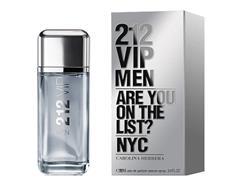 Perfume 212 Vip Men Carolina Herrera Masculino EDT Repack 200ML