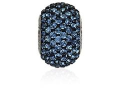 Becharmed Pavé decorado com cristais da Swarovski® Azul Marinho