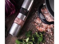 Moedor de Pimenta e Sal Tramontina Duplo Realce Inox e Acrílico  - 2