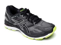 Tênis Asics Gel-Nimbus 19 Black/Glacier Grey/Energy Green Masculino