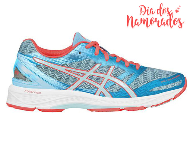 Tênis Asics Gel-Ds Trainer22 Aquarium/Aqua Splash/Flash Coral Feminino