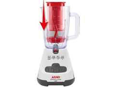 Liquidificador Arno Clic'pro Juice 3 Velocidades 700W Branco 220v - 2