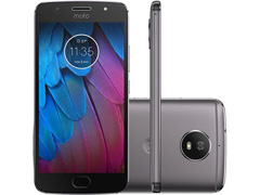 "Smartphone Motorola Moto G5S 4G 32GB Tela 5.2""Duos Câm 16+5MP Platinum - 0"