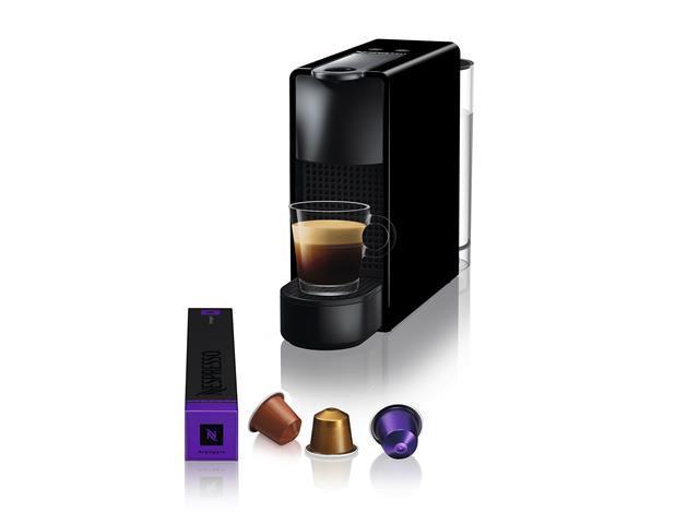 Cafeteira Nespresso Automática Essenza Kit Boas Vindas Mini Black