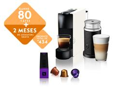Kit Nespresso Essenza Mini White + Aeroccino3 com Kit Boas Vindas - 0