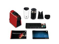 Kit Nespresso Essenza Mini Red + Aeroccino 3 com Kit Boas Vindas - 9