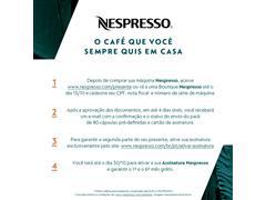 Cafeteira Nespresso Automática com Kit Boas Vindas Expert Black - 1