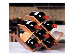 Rack de Mesa para Vinho MOR Bamboo 8 Lugares - 2