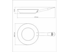 Frigideira Tramontina Aço Inox Antiaderente Profess Ø 26cm - 4