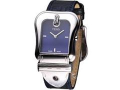 Relógio Fendi Feminino Pulseira De Tecido Azul Com Monogramas