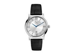 Relógio Gc Masculino Couro Preto - X60001g1s