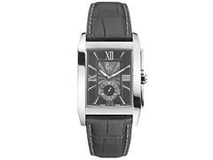Relógio Gc Masculino Couro Preto - X64005g2