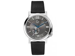 Relógio Gc Masculino Couro Preto - X59003g5s