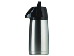 Garrafa Térmica Invicta Air Pot Inox Inquebrável 1 Litro - 0
