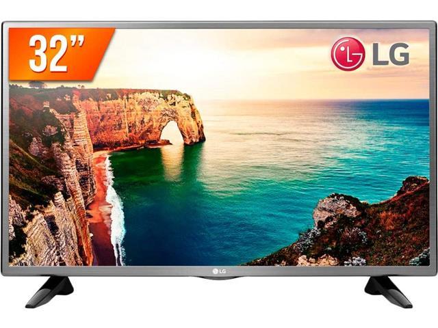 """TV LED 32"""" HDTV Conversor TV Digital Entrada 2 HDMI 1 Entrada USB LG"""