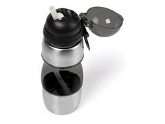 Squeeze Fumê Revestido Em Aço Inox - 400ml - 2