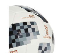 Bola Campo Adidas TOP Glider Copa do Mundo 18 * Branco - 4
