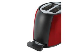 Torradeira Oster de Aço Inox Vermelha 800W - 2
