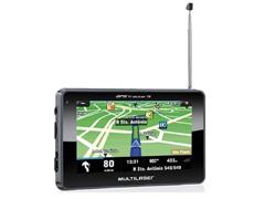 "Navegador Gps Multilaser Tracker Iii Tela 4.3"" Preto Tv Digital"