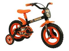 Bicicleta Aro 12 Infantil Track Bikes Arco-Iris Preto/Laranja - 0