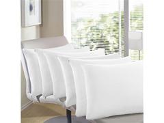 Capa Travesseiro Buettner Em Malha Com Ziper Branca - 1 UNIDADE
