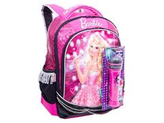 Mochila Sestini Grande Barbie Rock N' Royals Rosa