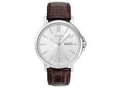 Relógio Hugo Boss Masculino Couro Marrom