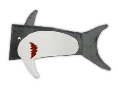 Manta Saco De Dormir Infantil Buettner Microfibra Tubarão Grafite - 0