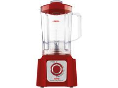 Liquidificador Arno Power Max 1000 15 Velocidades Vermelho 1000W - 1