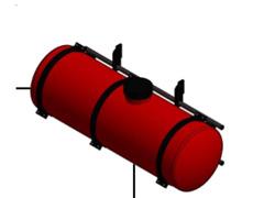 Maq. Drop  Plantadora cana Cap. 600 l c/ bomba elétrica