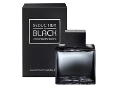 Perfume Seduction Black Men Antonio Banderas Masculino EDT 50ml - 1
