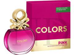 Perfume Colors Pink Benetton Feminino Eau de Toilette 50ml - 1