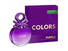 Perfume Colors Purple Benetton Feminino Eau de Toilette 80ml - 1