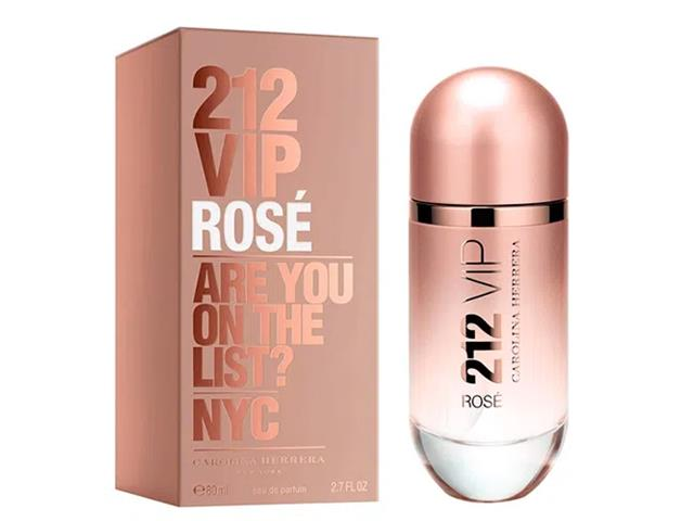 Perfume 212 VIP Rosé Carolina Herrera Eau de Parfum Feminino 80ml