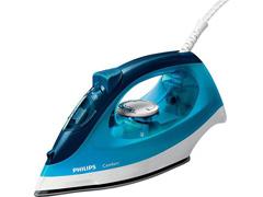 Ferro a Vapor Philips Walita Comfort Cerâmica Azul 2000W